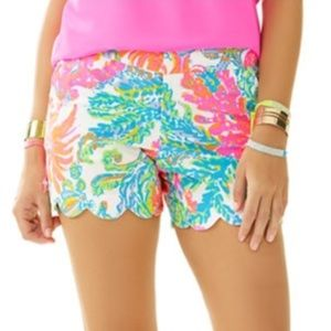Lilly Pulitzer Buttercup Shorts. size 0 EUC